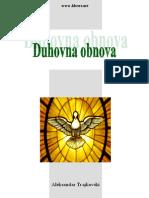Duhovna obnova