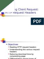 Handling Client Request