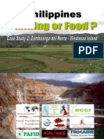 Mining or Food? Case Study 2
