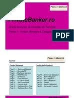 Ghidul Fondurilor de Investitii Din Romania. Partea 1 Fonduri Monetare & Obligatiuni