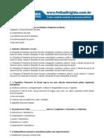 Direito Constitucional - Simulado Folha Dirigida