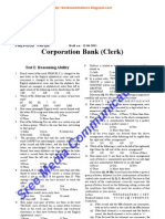 Corporation Bank Clerks 2011