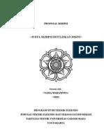Template Proposal Skripsi