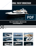 International Yacht Brokerage - Yachts Brokerage - catalog November 2011