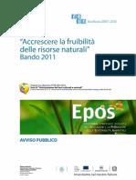 Bando Risorse Naturali 2011