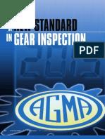 Gear k Chart Inspection 1005
