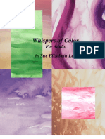 Whispers of Color Adult Book