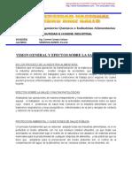 Seguridad e Higiene Industrial ComentarioVISION GENERAL Y EFECTOS SOBRE LA SALUD