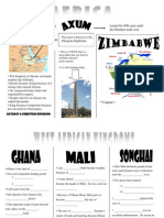 Presentation 4 Handout - West African Kingdoms