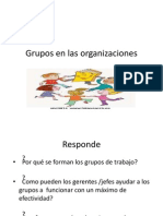 Grupos Comport a Mien To Org