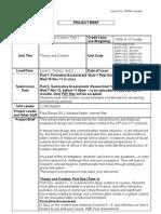 Theory+Context Pt1 Proj Brief 11-12