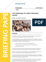 Challenges Faced by Govt for Education in India