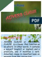 Presentasi Adverb Clause