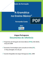 Gramatica No Ensino Basico