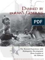 Dammed By Burma,s Generals - English