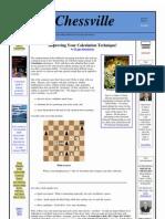 (eBook Chess) - Khmelnitsky Igor - Improving Your Calculation Technique!