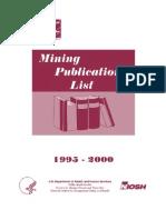 cdc mining pub list 1995-2000