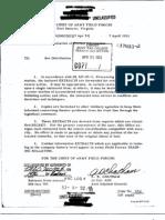 Dissemination of Combat Information 7 April 1953