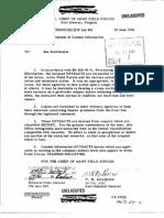 Dissemination of Combat Information 10 June 1952