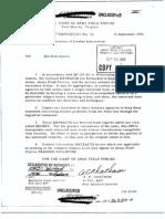 Dissemination of Combat Information 16 September 1952
