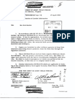 Dissemination of Combat Information 27 April 1953