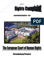 ECHR 2011, HUMAN RIGHTS COMPLAINT AGAINST NORWAY