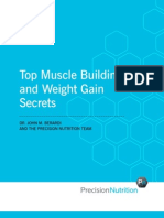 Top Muscle Building and Weight Gain Secrets