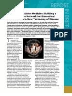 Toward Precision Medicine