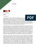 Message de La Fédération Galactique - Mike Quinsey - SaLuSa - 31 octobre  2011