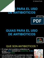 GUIAS PARA EL USO DE ANTIBIÓTICOS EN ODONTOLOGÍA