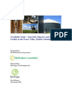 Fraser Valley Feasibility Study Anaerobic