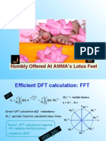 Efficient DFT Calculation