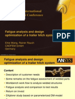 2008 Int ANSYS Conf Trailer Hitch System