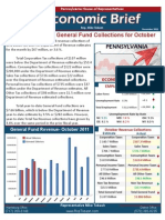 Rep. Tobash November 2011 Economic Brief