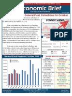 Rep. Evankovich November 2011 Economic Brief