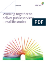 Collaboration and Public Service Delivery Case Studies