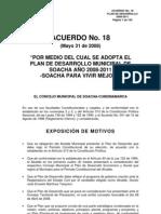"Plan de Desarrollo Municipal 2008-2011, Soacha, Colombia, ""Soacha"