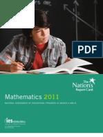 US Department of Education NEAP Educational Assessment