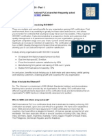 ISO 9001 - QMS FAQ Pt 1