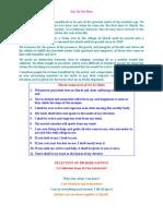 Shirdi Sai Baba's 100 Declarations