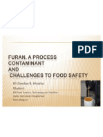 Furan  a food processing contaminant  DBK