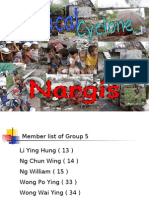 4B Group 5 Cyclone Nargis