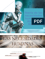 Teoría de las necesidades humanas de Abrahan Maslow