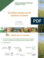 Огляд органічного сектору Франції, Анаіс Ріффіод, Французька Органічна Агенція,  Франція