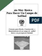 Manual Para Terreno Basico Softball)