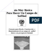 Manual Para Terreno Basico Softball)