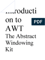 Introduction to AWT2