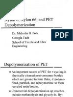 depolymerization