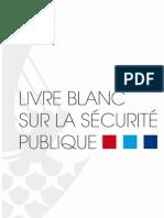 Livre Blanc de la sécurité publique - Alain Bauer et Michel Godin