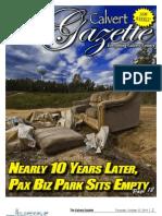 2011-10-27 Calvert Gazette